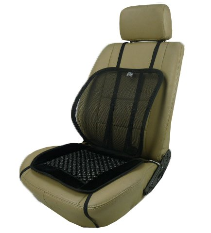 ObboMed SM-7500V Obbomed Adjustable Mesh Lumbar Support with Beaded Massage Seat by ObboM