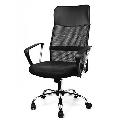 Fauteuil-de-bureau-AIR-PLUS-chaise-noir-sige-pivotant-tissu