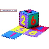 LUKZER Puzzle Mat 10 Mm Thick Shockproof Eva Kids Interlockable Puzzle Foam Floor Mats