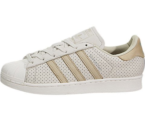 adidas Originals Superstar Fashion J, CBROWN,LINKHA,CWHITE, 6 Medium US