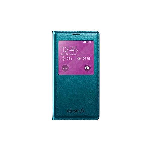 Samsung S-View - Funda para móvil Galaxy S5 (Inteligente, permite controlar funciones...