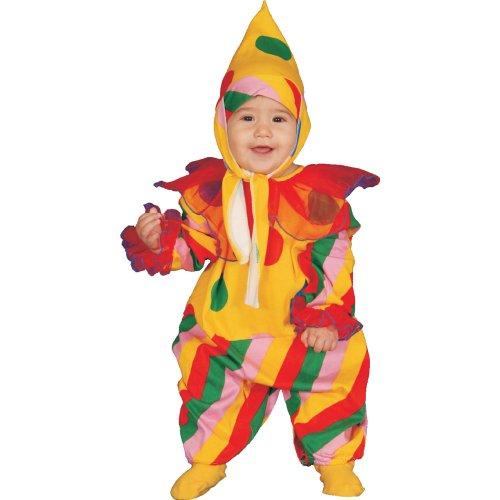Dress Up America Conjunto de Disfraces de Payaso de Circo bebé