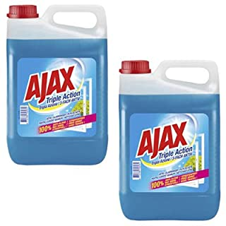 AJAX 3-FACH AKTIV Glasreiniger 2x 5,0 l