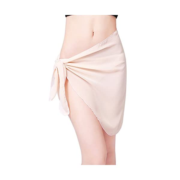 Involucro da bagno bikini con copertura in bikini in chiffon sexy di Sarong stampato da donna 1 spesavip