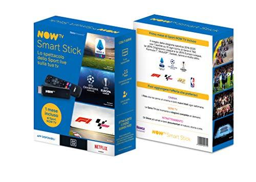 NOW TV Smart Stick + il primo mese di Sport | Chiavetta TV