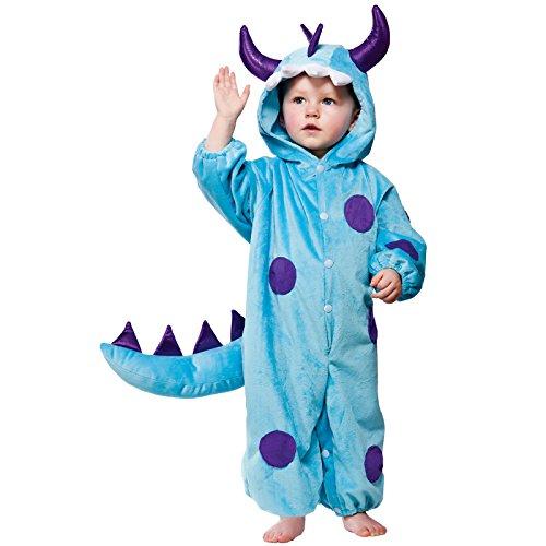 Blue Monster costume Toddler 12-18 Months Halloween Fancy (12 18 Kostüme Halloween Kleinkind Monate)