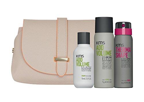 KMS ajouter du volume kit de style de taille de voyage (3 produits)