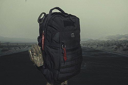 Tactical Hunters Kit de Supervivencia Profesional, Equipo de Herramientas...