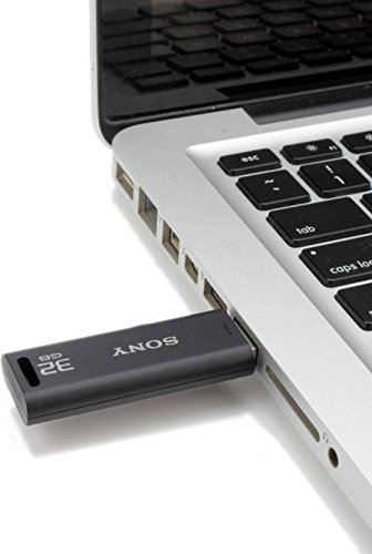 Sony Microvault 32GB USB Drive (Black) Image 7