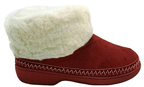 A&H Footwear ,  Mädchen Damen Stiefel burgunderfarben