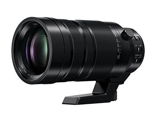 Panasonic H-RS100400E Leica DG VARIO-ELMAR Kamrea Objektive (100-400mm/F4.0-6.3, Premium Telezoom, Dual I.S., Staub-&Spritzwasserschutz, schwarz)