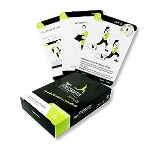 figgrs Trainingskarten Fit und Vital ab 50 (50 Übungen ohne Geräte für einen fitten und gesunden Körper)