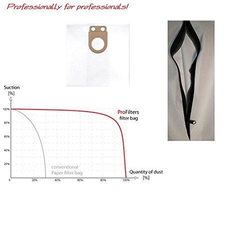 Preisvergleich Produktbild 1x Staubbeutel Filtersack mit REIßVERSCHLUß für Metabo ASR 25 L SC