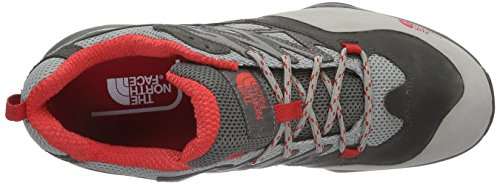The North Face - Hedgehog Hike Goretex, Scarpe da escursionismo Donna Grigio (Dark Gull Grey/Tomato Red Apn)