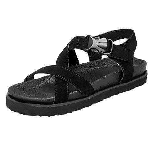 Celucke Moda Scarpe da Donna Estate Sandali Bassi Spiaggia per Il Tempo Libero Sandali Sportivi Scarpe da Donna