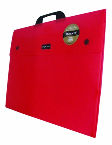 Westfolio A2 Type G Expandable Folio Raspberry (Portfolio Kind Artwork)