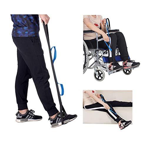 Dbtxwd Packung mit 2 Beinhebern mit Zwei Griffen, Mobilitätsgerät zum Bewegen des Beins, Hebehilfe für ältere, behinderte und behinderte Benutzer