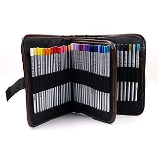 Großes Fassungsvermögen Bleistift Fall, praktischem Bleistift Tasche Stationäre Stifthalter Organizer für Studenten