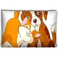 Mizongxia Pillow cases cat dog 20 * 30inch