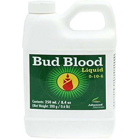 Avanzado nutrientes Bud sangre Potenciador de floración, líquido–250ml por avanzado nutrientes