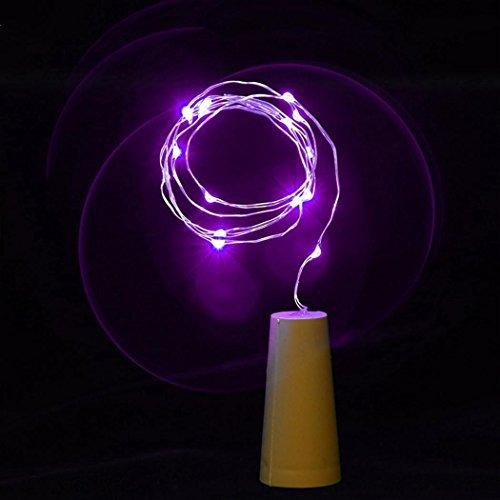 80cm, kupfer-Fee-Glühbirnen mit 8Flasche mit Schnur