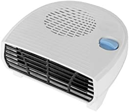 Oreva Orpat Plastic OREH-1212 2000Watts Element Fan Heater, 22.5x20x10cms(White)