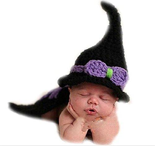 m für Neugeborenen Fotoshooting, Hexe Kostüm, 0-1 Monate (Beste Hexen Kostüme)