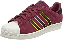 superstars adidas rojas