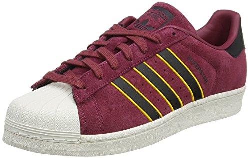 adidas Superstar, Baskets Homme, Rouge (Rojsld/Negbás/Amaadi 000), 40 2/3 EU