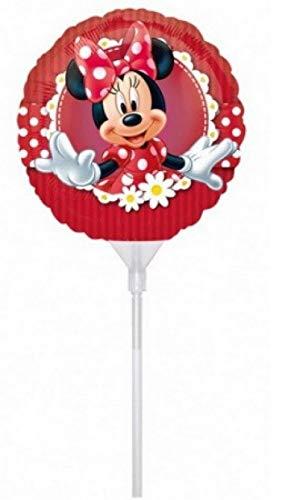 PICCOLI MONELLI Globo cumpleaños niños Minnie pequeño Mouse 1 pc con Helio Grande 25 cm