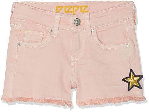 Pepe Jeans Mädchen Elsy Short Sunny Badeshorts, Pink (Spritzer 324), 9-10 Jahre (Herstellergröße: 10)