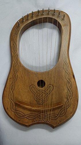 Lyre-Harpe-10-Mtal-Cordes-PalissandreLyra-harpe-palissandre-10-cordes-Gratuit-Botier