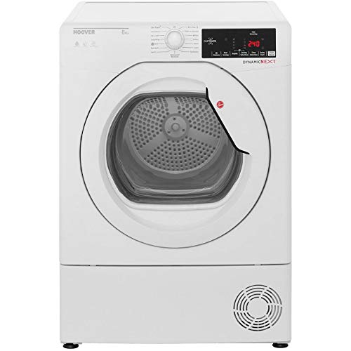 Hoover DXC8TG Freestanding B Rated Condenser Tumble Dryer - White