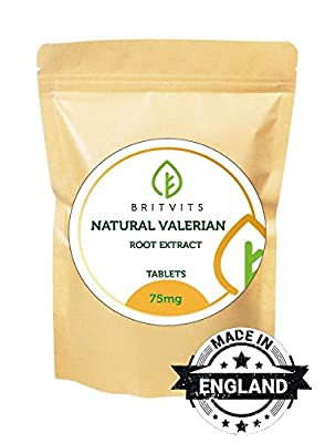 Valeriana Root Extract x60 Tablets from Healthy Mood