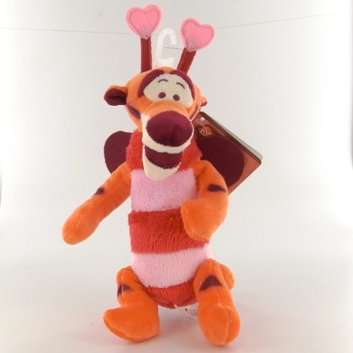 Winnie l'Ourson Peluche Love Bug Valentine Tigrou 16 cm