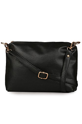 Classic Women's Sling Bag (Black , Cfs1007)  available at amazon for Rs.299