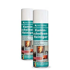 HOTREGA 2 x Kaminscheiben-Reiniger 300 ml (Vorteil-Set)