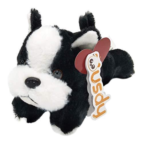 Suave y esponjoso peluche de perro bulldog francés (26 cm)