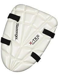 Slazenger x-Tec muslo notebookbits almohadilla Cricket mortajadora Batsman protección Mens protectores de pierna, color , tamaño niños