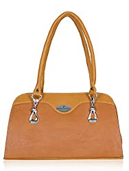 Fantosy Women's Handbag Tan (FNB-576)