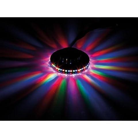 xinban UFO acustico gesteuerte illuminazione palcoscenico Mini Sunflower RGB-LED Party illuminazione con effetto luce girevole utilizzabile per Party, Bar, Pub, festa di compleanno
