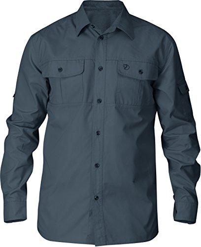Fjällräven Herren Singi Trekking Shirt Ls Hemd, Dunkelgrau, Einheitsgröße Dusk