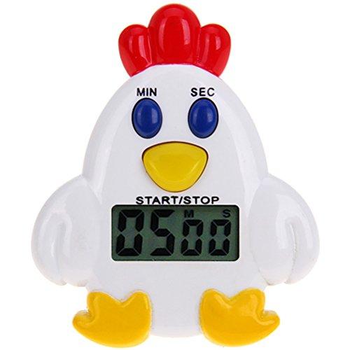 PIXNOR Elektronische Küchen-Timer Huhn-Form Huhn, Küche