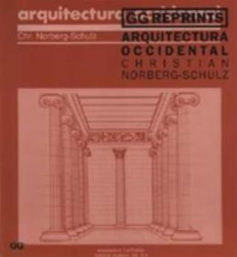 Arquitectura occidental (GG Reprints)