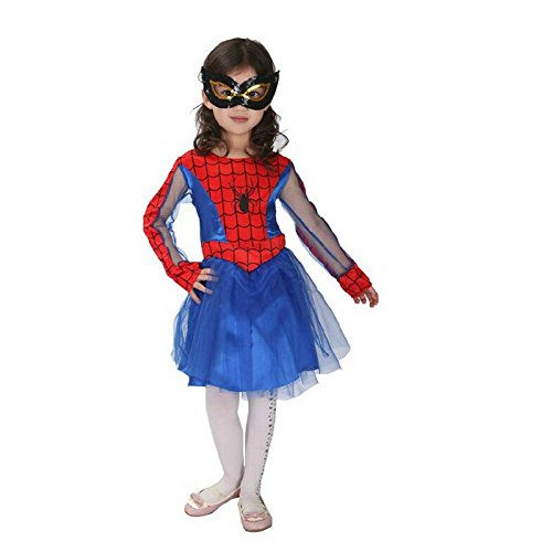 Baby and Blossoms Super Man Girl fancy dress for kids,Super Hero Costume for annual function/theme Party/Competition/Stage Shows/Birthday Party Dress