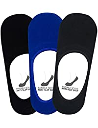 Supersox - Men's Loafer Anti Slip No Show Socks Pack of 3