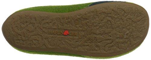Haflinger Everest Lasse, Chaussons Mules mixte adulte Grün (Grasgrün)