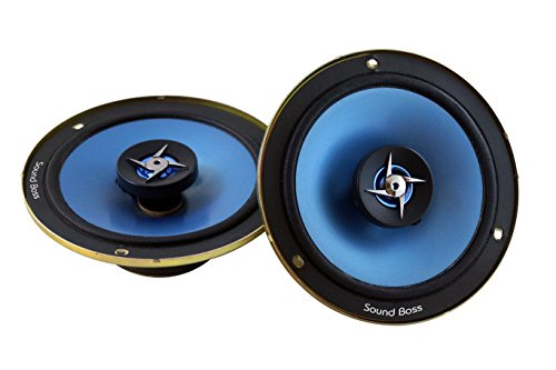 "soundboss 6""inch 2way performance auditor 280w max b525t coaxial car speaker SoundBoss 6″inch 2way Performance Auditor 280W MAX B525T Coaxial Car Speaker 416xgAhPykL"
