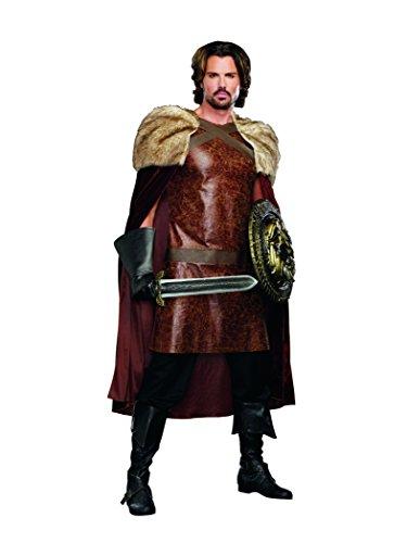 Dragon Warrior King Adult Costume (Kostüm King Warrior)