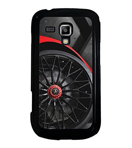 Fuson Designer Back Case Cover for Samsung Galaxy S Duos 2 S7582 :: Samsung Galaxy Trend Plus S7580 (Car Red Car Car Tyres Wheels Black)  available at amazon for Rs.349
